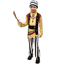 halloween costume for boys cosplay jumpsuit costume boys pirate costume pirate party supplies pirate of caribbean funny wear