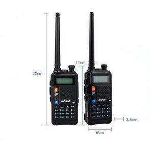 Image 3 - Dual band 1800mah baofeng UVT2 R9 walkie talkie two way radios hot sale FM radio function CB ham radioUVt2 R9 professional radio