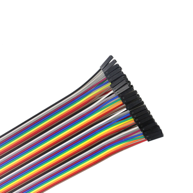 Dupont Line 120pcs 20cm Male to Male, Male to Female and Female to Female Jumper Wire Cable