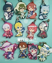 IDOLiSH7 GAME TRIGGER Re: vale KUJI KVersion Rubber Resin Keychain Pendant