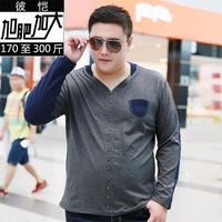 10xl 9xl 8xl Men S Tops T Shirts Long Sleeve Spring Autumn Fashion Business Casual Style