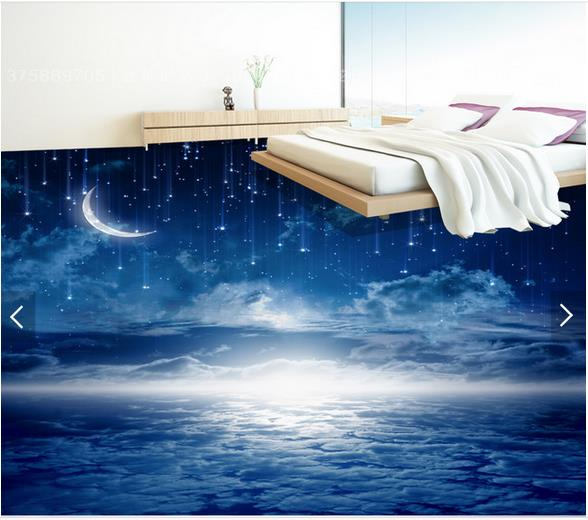 3d wallpaper custom 3d flooring painting wallpaper room murals The night sky theme room to draw 3 d floor tile 3d photo wallpaer custom sketchbook a4 draw this graffiti notebook personalized custom printed image logo photo on the cover