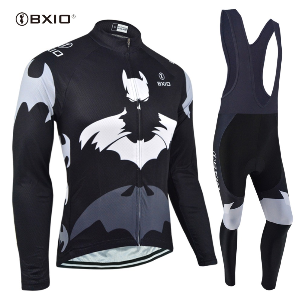 BXIO Winter Thermal Fleece Cycling Jersey Sets Pro Team Long Sleeve Bicycle Bike Clothing Cycling Pantalones Ropa Ciclismo 111 black thermal fleece cycling clothing winter fleece long adequate quality cycling jersey bicycle clothing cc5081