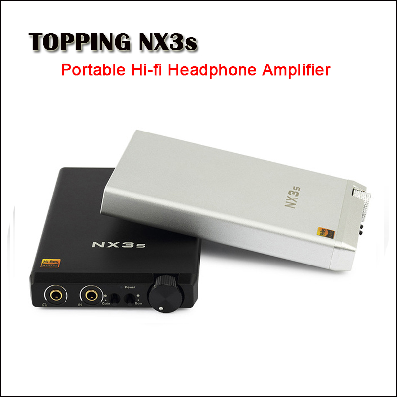 TOPPING NX3s Portable Headphone Amplifier Audio OPA2140 LME49720 Mini Headphone Amp Hifi RCA Headphones Amplifier Earphone