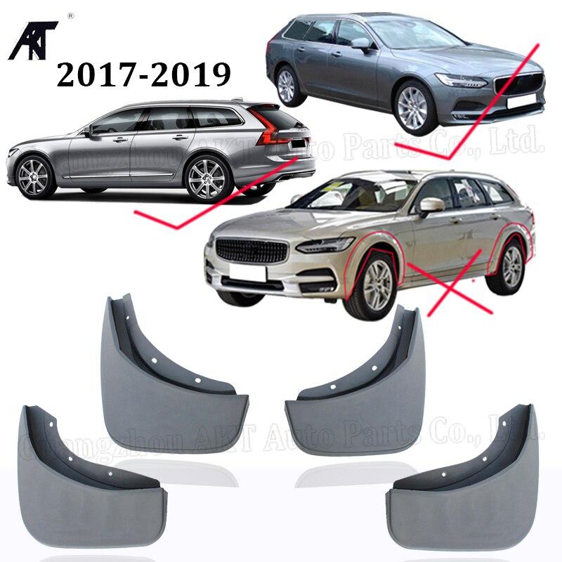 Bavette pour 2017 2018 2019 Volvo V90 Cross Country avant arrière moulé garde-boue de voiture garde-boue garde-boue garde-boue