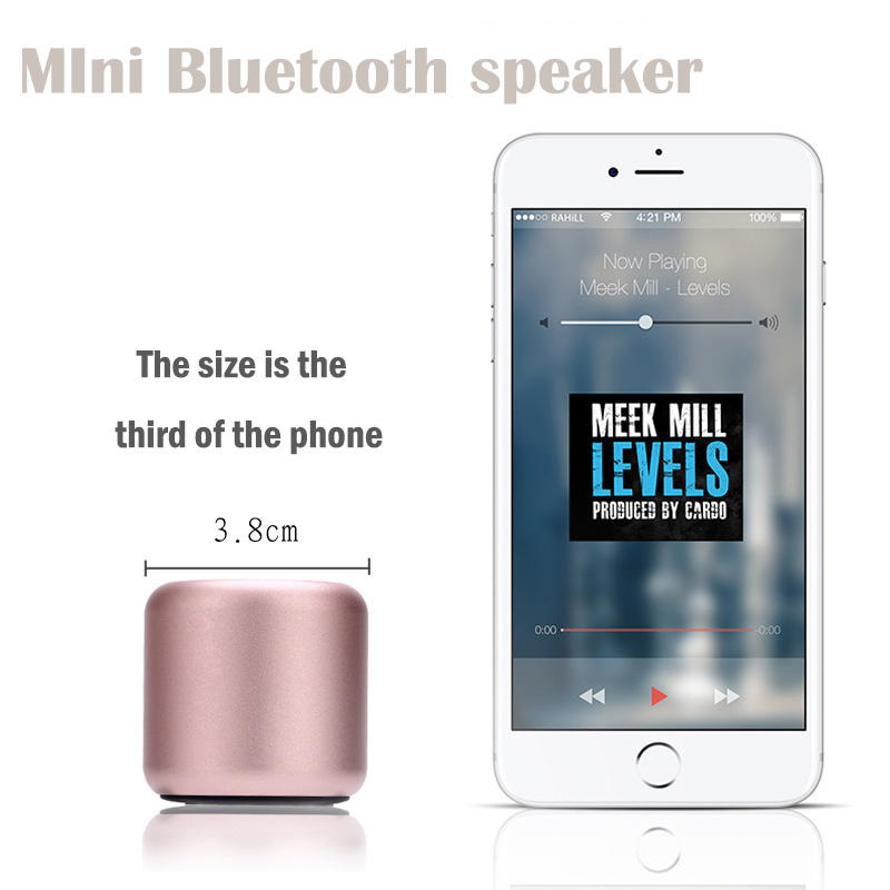 Image 4 - A8 tws Super Bass Portable Wireless Music Small Speaker Microphone Mobile Speaker music player Boom box sound system with Fm rad-in Subwoofer from Consumer Electronics