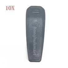10 pièces/lot pince de ceinture pour ICOM BP265 batterie pour IC V80/V80E IC T70A/70E IC F27SR, F3103D, F4103D, F4102D, F3001 etc talkie walkie