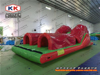 New inflatable water tunnel slide games for water park