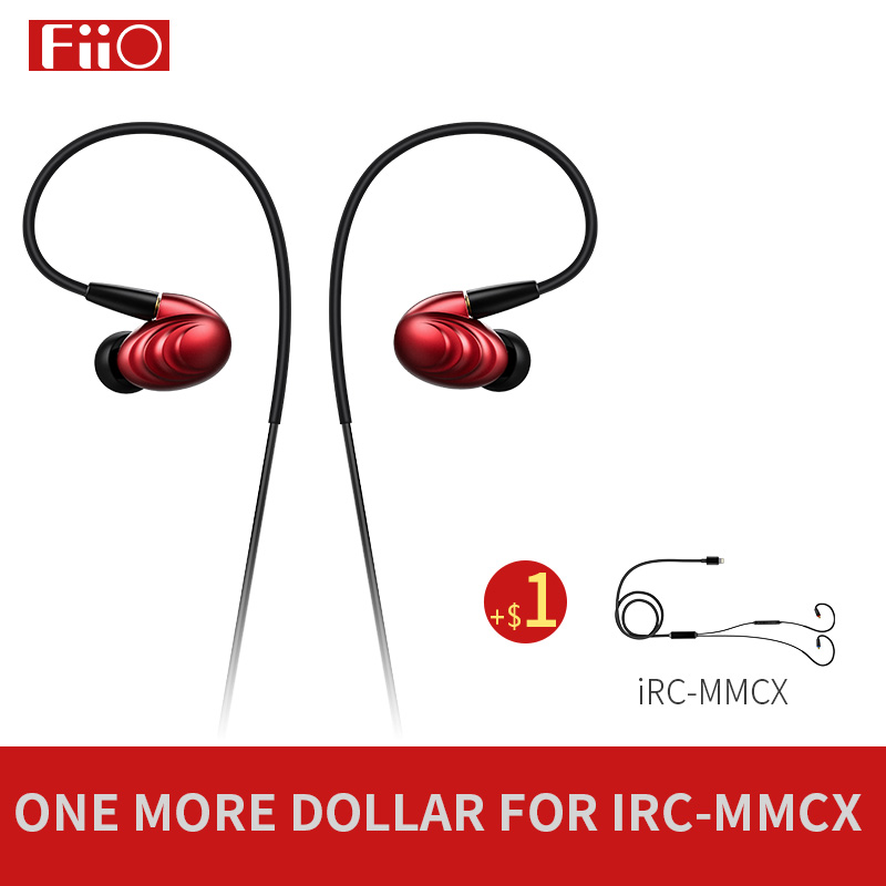 FiiO Triple Driver Hybrid In Ear Headphone F9 FiiO Earphone F9 FiiO Dynamic headphone F9 for