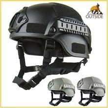 خوذة حماية للرأس, جودة خفيفة الوزن خوذة MICH 2000 Airsoft MH التكتيكية خوذة في الهواء الطلق التكتيكية الألوان CS SWAT ركوب معدات حماية