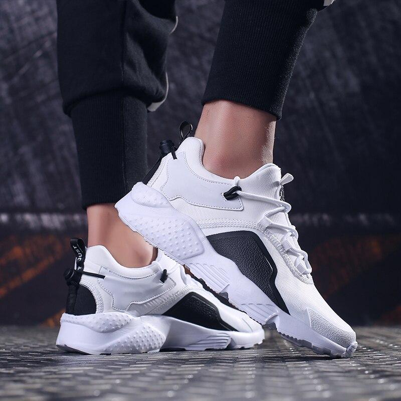 Sapatos 39 Menino Sneakers red Couro Esporte Black grey Dos Casuais Respirável 081 Moda Tênis ~ 2019 white 47 Homem Homens Plataforma De Da xt1wnqaYz