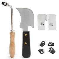 DWZ 7Pcs Stainless Steel Floor Installation Vinyl Weld Tools Kit Accessories Set