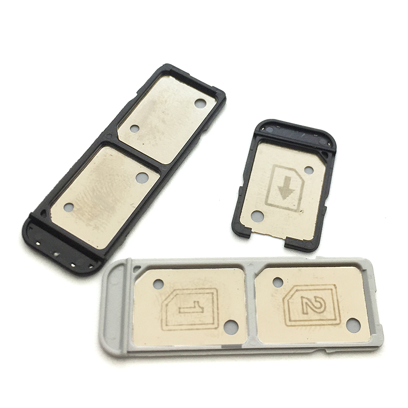 New For Sony Xperia L1 G3311 G3312 G3313 Sim Tray Sim Card Reader Holder Housing Parts , Single & Dual Sim Version Replacement
