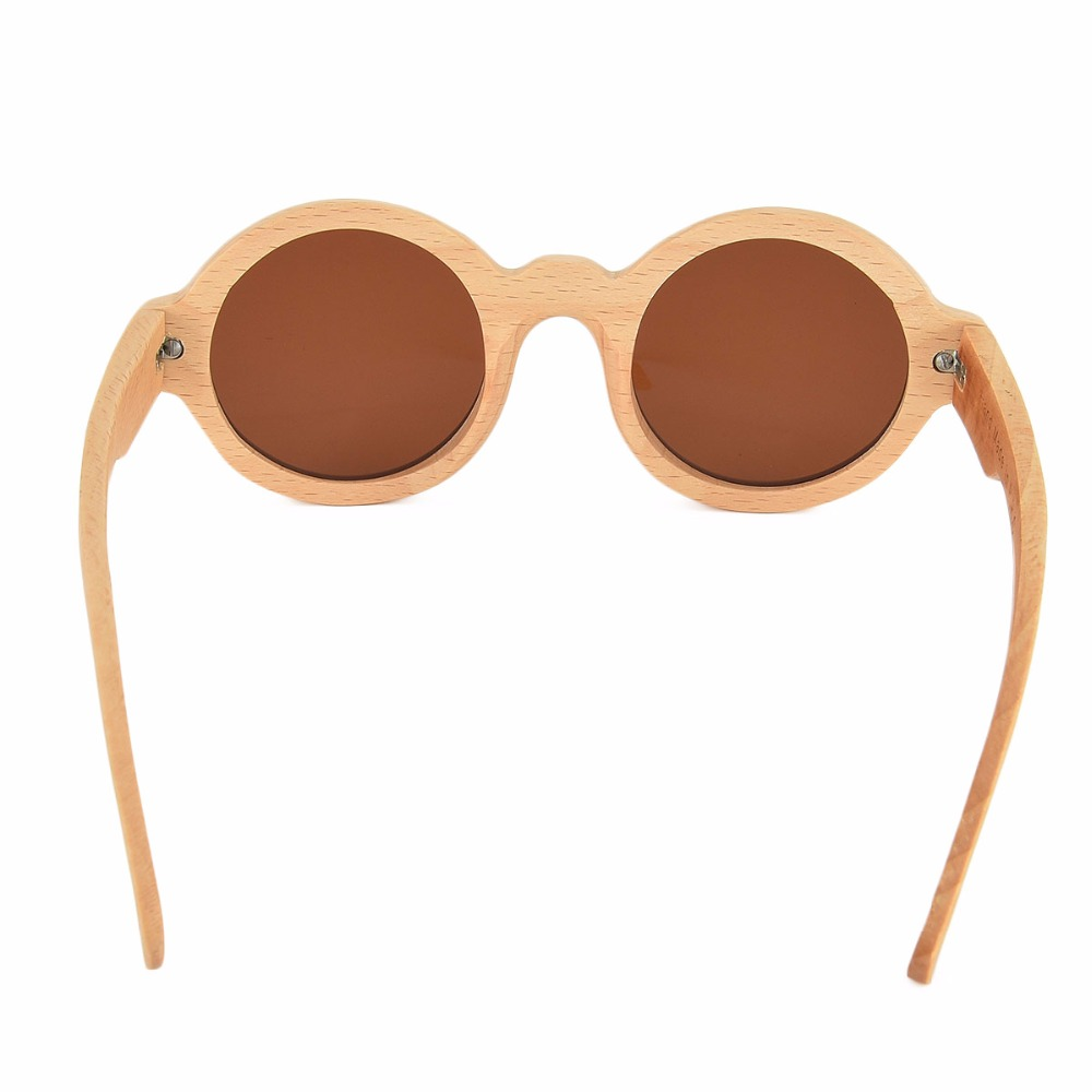 b48176db27 VOBOOM Sunglasses Men Polarized Brand Designer Round UV400 Women Handmade  Wooden Frame Sun Glasses Eyewear 023 J-in Sunglasses from Apparel  Accessories on ...