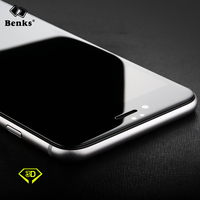 for iPhone 6 6S Benks KR+ Pro Sapphire Coating 3D Full Cover Tempered Glass Screen Protector for iPhone 6 6S Plus Glass