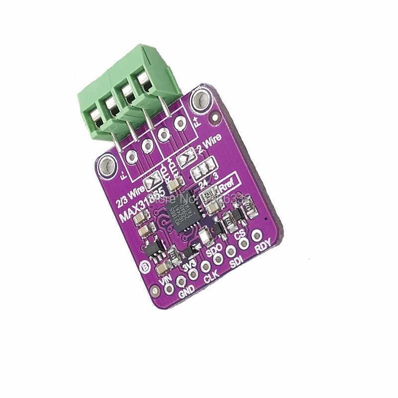 WS16 MAX31865 PT100 PT1000 RTD To Digital Converter Thermocouple  Temperature Sensor Amplifier Module For Arduino Raspberry PI