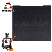 Trianglelab 241 x 252 Double Sided Textured PEI Spring Steel Sheet Powder Coated PEI Build Plate For Prusa i3 MK2.5S Mk3 MK3S