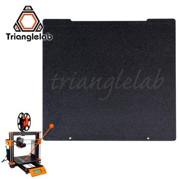 Trianglelab 241x252 Dupla face Placa PEI PEI Primavera Chapa de Aço Em Pó Revestido Texturizado Construir para Prusa i3 MK2.5S mk3 MK3S