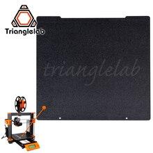 Trianglelab 241x252 Çift taraflı Dokulu PEI Bahar çelik levha Toz Kaplı PEI Inşa Plaka için Prusa i3 MK2.5S mk3 MK3S