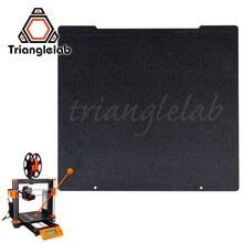 Trianglelab 241x252 כפול צדדי מרקם פיי אביב פלדת גיליון אבקה מצופה פיי לבנות צלחת עבור Prusa i3 MK2.5S mk3 MK3S