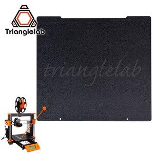 Image 1 - Trianglelab 241x252 Двусторонняя текстурированная пей Рессорная сталь лист с порошковым покрытием пей сборки пластины для Prusa i3 MK2.5S mk3 MK3S