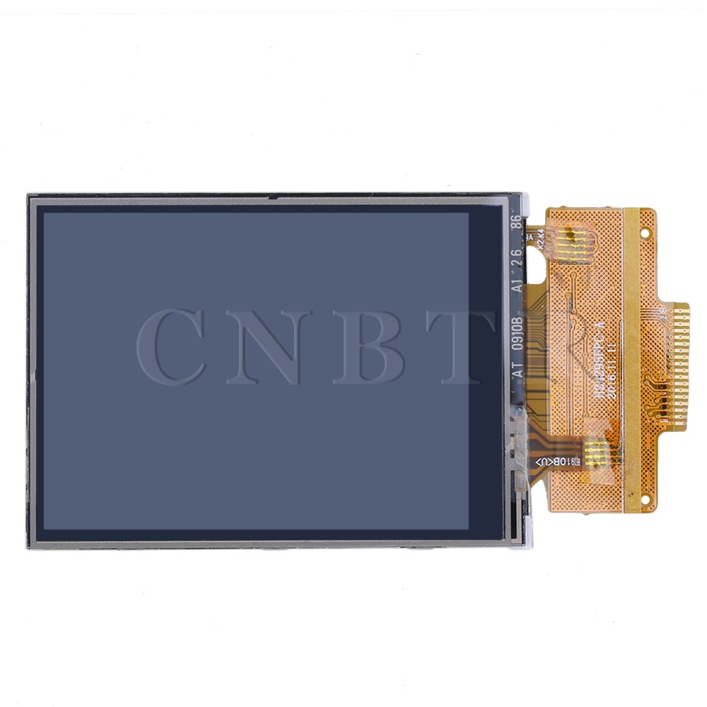 CNBTR 8x4.2cm 2.4 inch 5V/3.3V Serial Port TFT LCD Display Module ILI9341 Driver with Touch Screen wholesale 1pc 2 2 inch 240 320 dots spi tft lcd serial port module display ili9225 5v 3 3v new hot