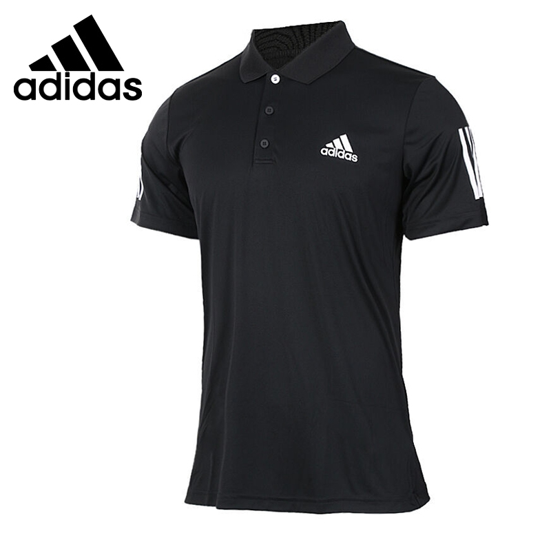 Original New Arrival  Adidas CLUB POLO Men's POLO training shirt short sleeve Sportswear