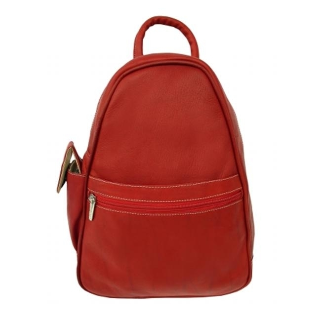 Piel 2017-RD Red Tri-Shaped Sling Bag цена