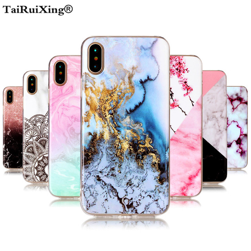 Fashion Marble Stone <font><b>Soft</b></font> Silicone TPU Slim Back <font><b>Case</b></font> Cover For <font><b>Samsung</b></font> Galaxy S3 S4 S5 <font><b>S6</b></font> S7 Edge S8 S9 Plus Note 8 9 <font><b>Case</b></font> image