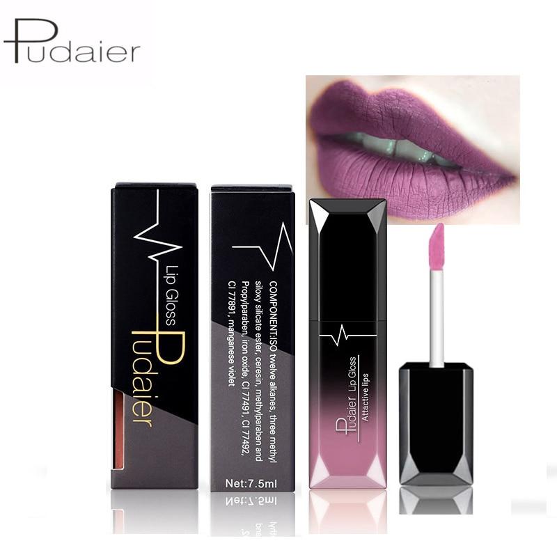 21 Colors Matte And Metallic Matte Liquid Lipstick Lips Make Up Nude Lipstick Waterproof Lip Gloss Cosmetics Makeup#