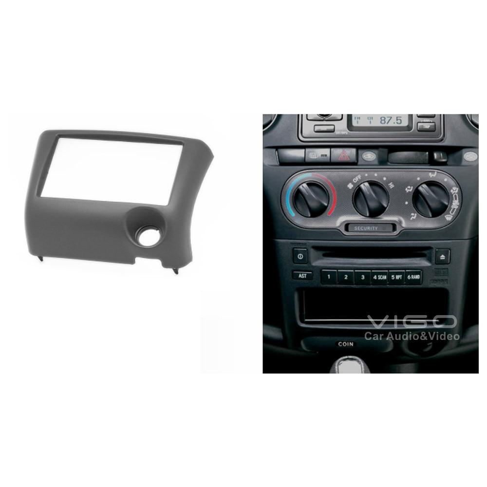 Toyota Service Coupons >> 11 193 Car Radio Facia for TOYOTA Yaris Echo Vitz Platz Stereo Dash Kit Install Fascia Face ...