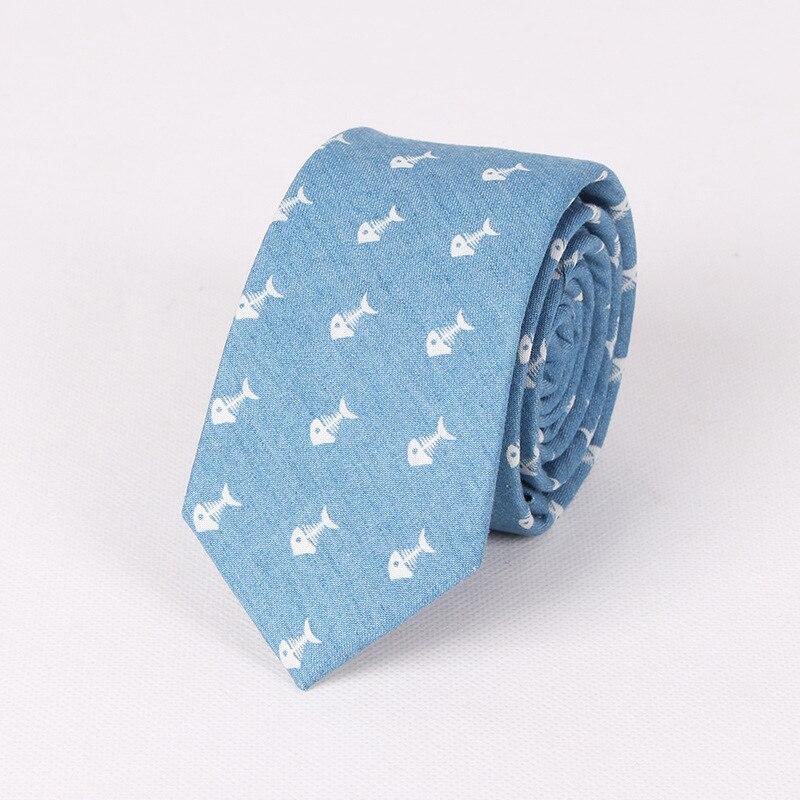 Necktie Design Store Mantieqingway Style 6.5cm Skinny Neckties Business Skull Cotton Neck Tie Wedding Suits Ties for Men Leisure Gravatas Corbatas