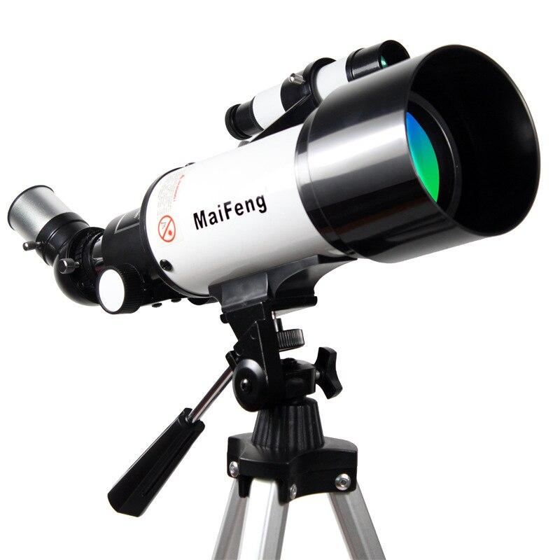 A estrela-watching Paisagem Lente Telescópio Astronômico 40070 Monocular Binóculos Lunetas de Entrada Ao Ar Livre Profissional