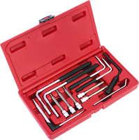 Winmax 12 stück airbag entfernung kit-hex & torx airbag abschaltung werkzeug bit set wt04d2025