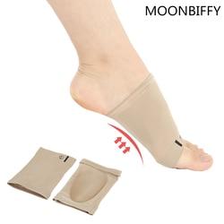 1 pair تقويم العظام قوس الدعم هدفين القدم أقدام مسطحة الأقواس footful تخفيف الألم مريحة حذاء النعال تقويم rd600535