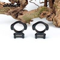 Ohhunt Tactical Staal Scope Mount Ringen 2 Stks 30mm Diameter Medium Profiel Picatinny Wever Ringen voor Hunting Rifle Riflescope