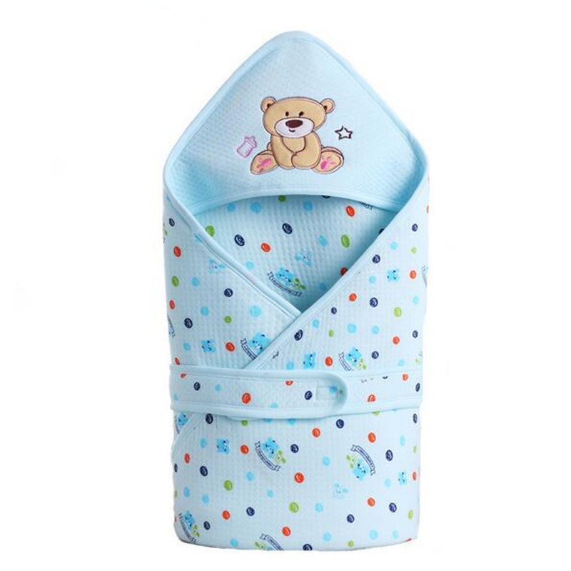 Dajinbear infant Baby cotton Cattle sleeping bag envelope for newborn wrap sleepsack cartoon sleeping bag baby blanket swaddling