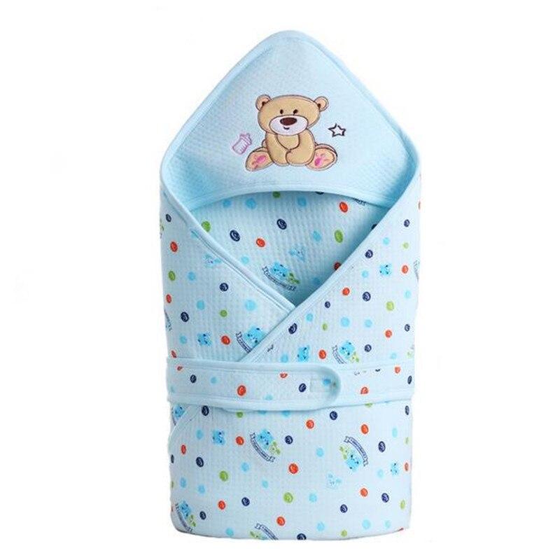 Dajinbear детские хлопчатобумажные крупного рогатого скота спальный мешок конверт для новорожденного с запахом sleepsack мультфильм спальный мешок одеяло пеленание