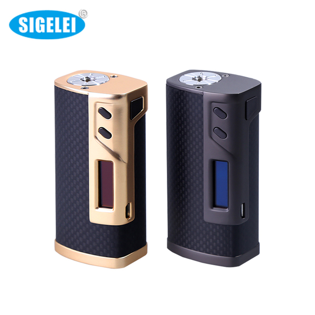 Original Seigelei 213w box Mod 510 thread Elecctronic Cigarette Vape Mod Without 18650 Battery For Vaporizer Atomizer Vape Vapor