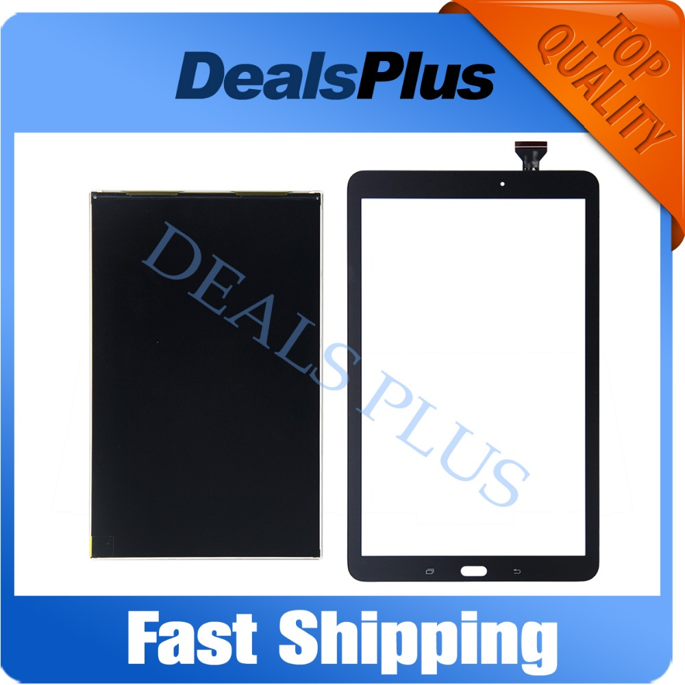 Replacement New LCD Display + Touch Screen For Samsung Galaxy Tab E 9.6 SM-T560 T560 T561 White Black
