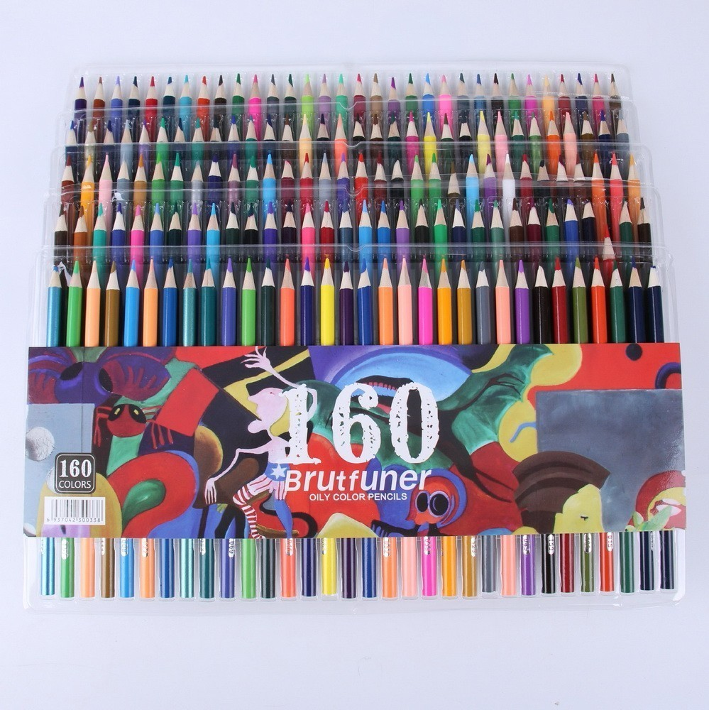LSH 160 smooth oily water-insoluble pencil bright comics graffiti color lead school supplies HOT fashion 160 smooth oily water insoluble pencil bright comics graffiti color lead school supplies new