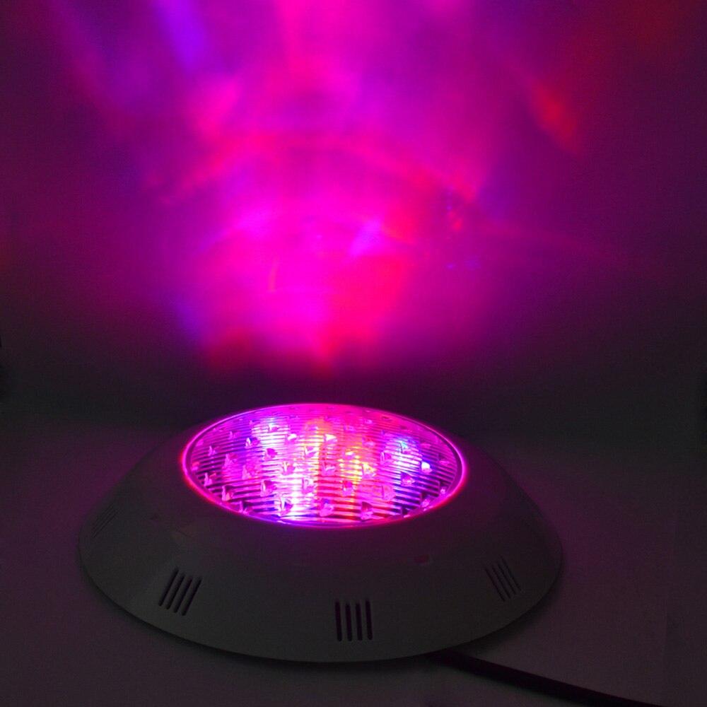 Jiawen DMX512 Подводные лампы RGB поверхностного монтажа светодиодный Бассейны Свет IP68 Водонепроницаемый 12 В-24 В белый Focos лампы Пруд бордовый