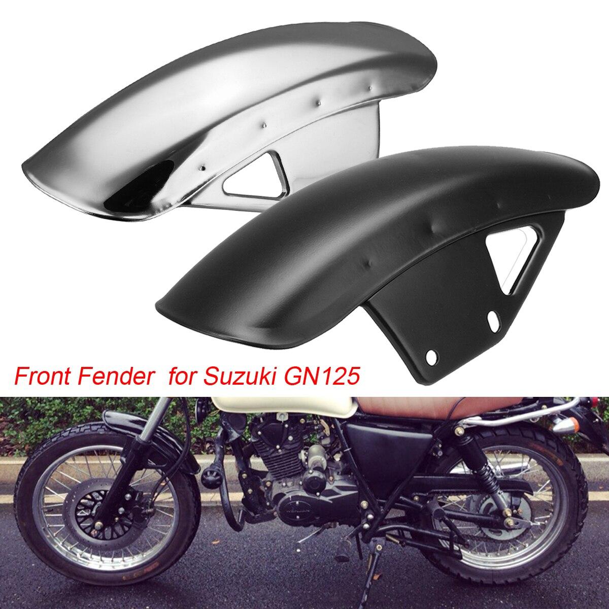 1 пара мотоциклов брызговик спереди и сзади 2 вида цветов крыло песок брызговик грязи парировать металла для Suzuki GN125