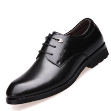 Fashion Business Dress Men Formal Office Shoes 2019 New Classic Leather Suits Slip On Oxfords