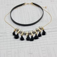 Multi-Layer Tassels Long Necklace