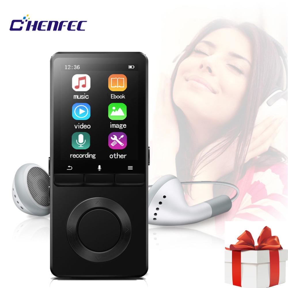 Portable Mp4 Player With Speaker Sport MP4 Player 8GB with video Player FM Radio MP4 Music Player Support SD up to 128GB