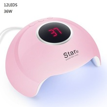 US $6.89 55% OFF|36W new Star6 nail light therapy machine USB nail machine led dryer induction quick drying phototherapy lamp gel nail lamp-in Nail Dryers from Beauty & Health on Aliexpress.com | Alibaba Group