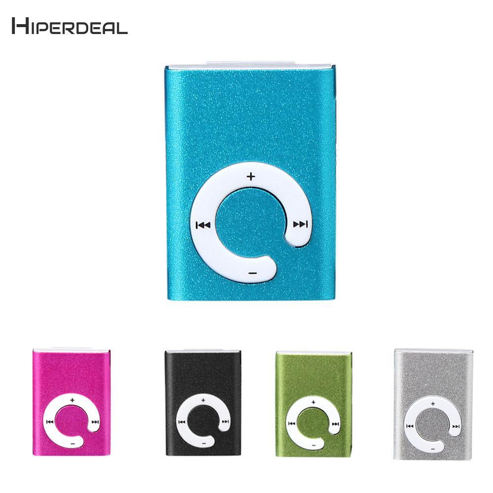 HIPERDEAL MP3 Mirror Clip USB Digital MP3 Player