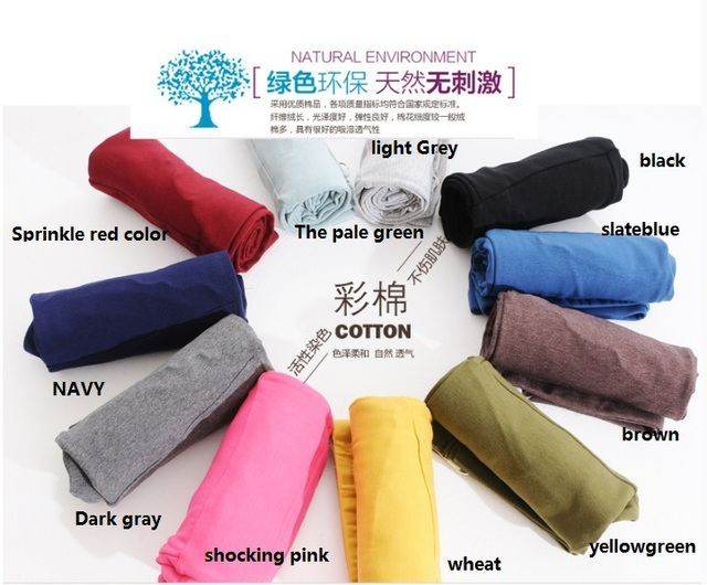 11 Colors 2015Spring and Autumn New Pregnant Women Adjustable Cotton Modal Leggings Maternity Pants Comfortable Leggings
