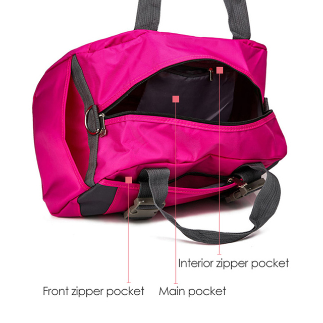 Yoga Mat Bag Fitness Gym Bags Sports Nylon Training Shoulder Sac De Sport For Women Men Traveling Duffel Gymtas Sporttas XA55WA
